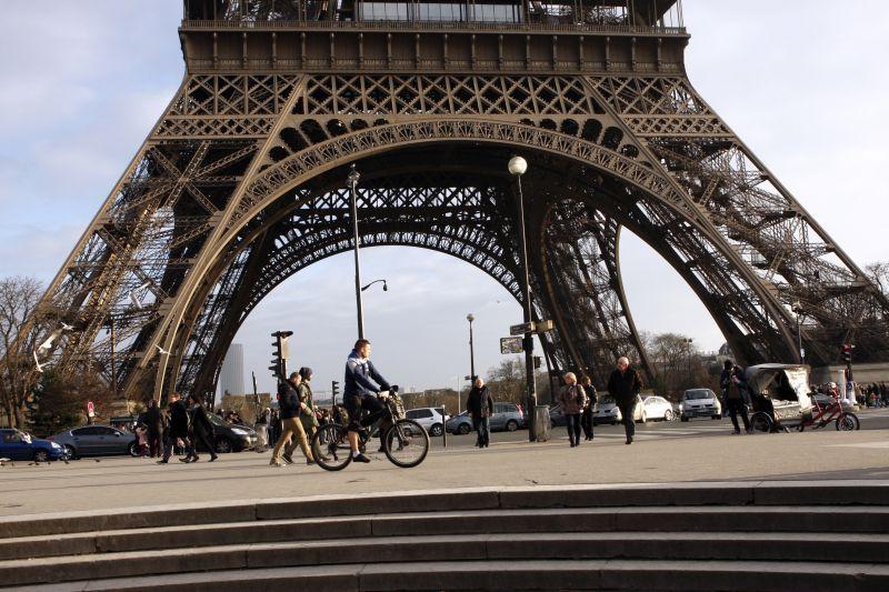 Romantisk tur med partneren til Paris